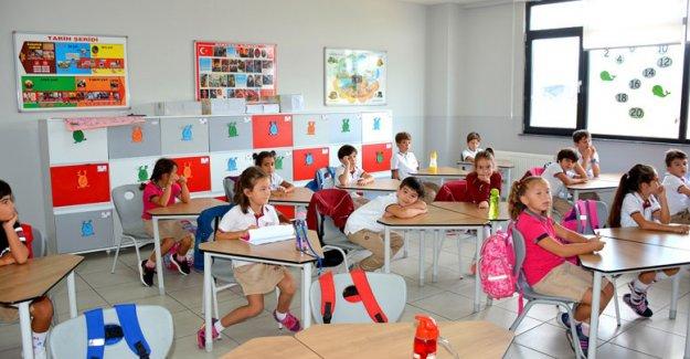 Mektebim'in  204 okulunda  ders zili çaldı