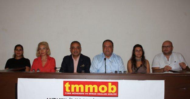 TMMOB Antalya  19 Eylül'ü kutladı