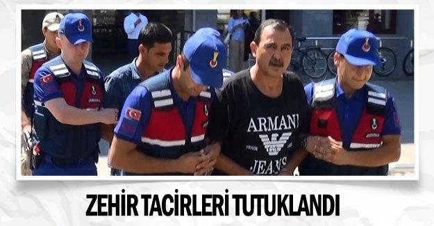 Zehir tacirleri tutuklandı