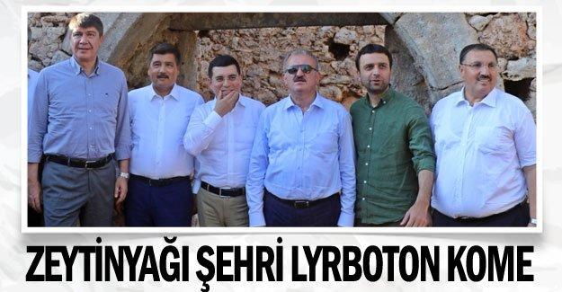 Zeytinyağı şehri Lyrboton Kome