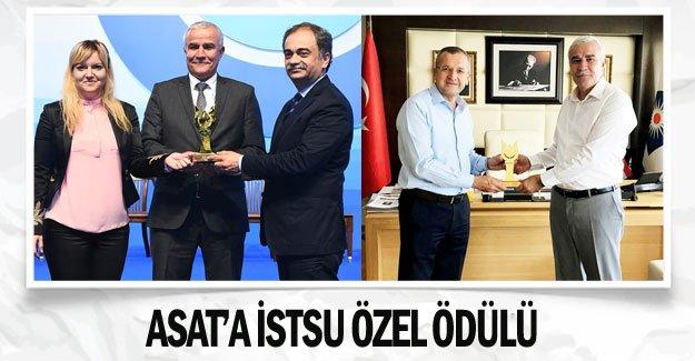 ASAT'a İSTSU Özel Ödülü