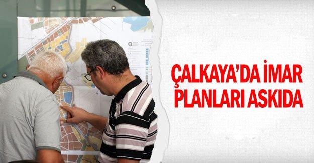 Çalkaya'da imar planları askıda
