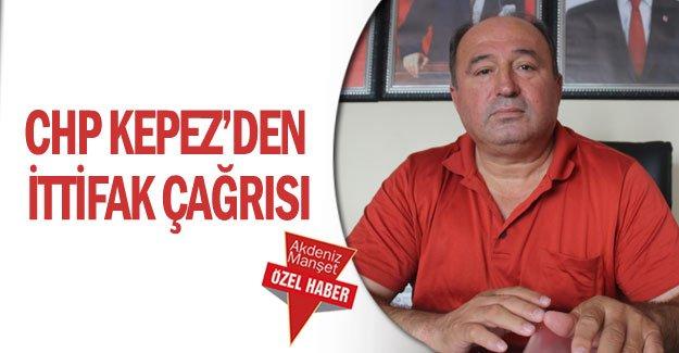 CHP Kepez'den ittifak çağrısı