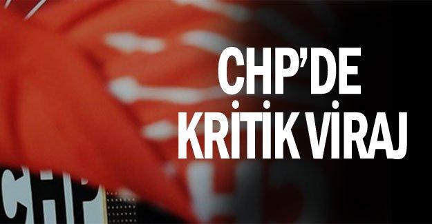 CHP'de kritik viraj