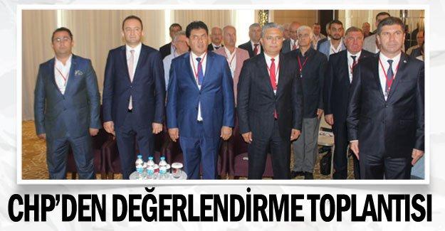 CHP'den seçimler öncesi değerlendirme toplantısı