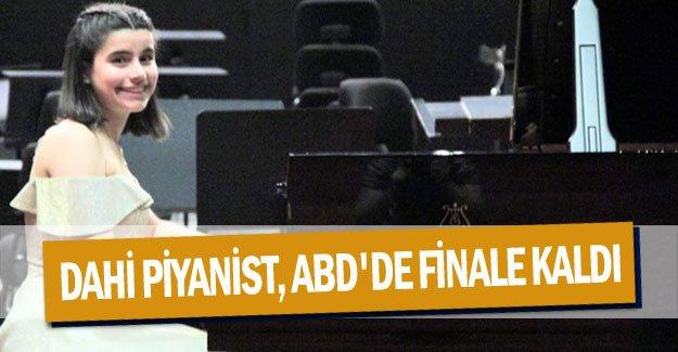 Dahi piyanist, ABD'de finale kaldı