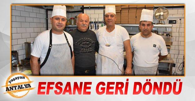 EFSANE GERİ DÖNDÜ
