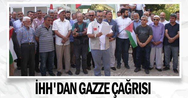 İHH'dan Gazze çağrısı