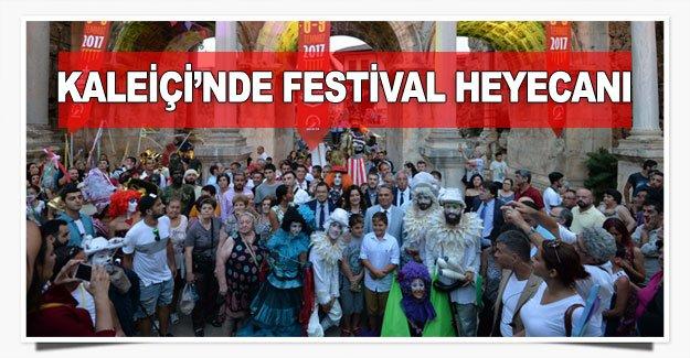 Kaleiçi'nde festival heyecanı
