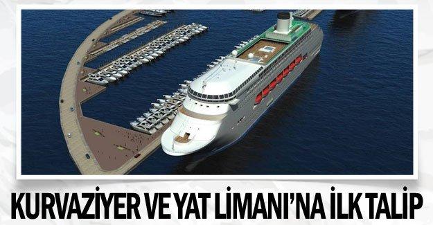 Kurvaziyer ve Yat  Limanı'na ilk talip