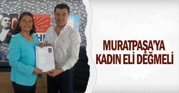 Muratpaşa'ya kadın eli değmeli