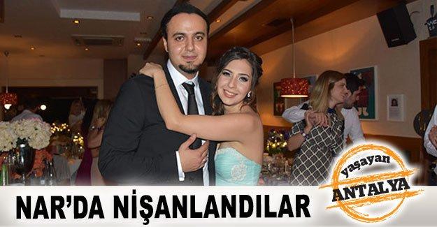 Nar'da nişanlandılar