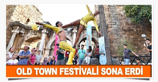 Old Town Festivali sona erdi