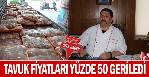Tavuk fiyatları yüzde 50 geriledi