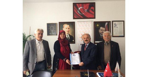 AK Parti Akseki'de meclis üyeliğine ilk başvuru