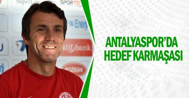 Antalyaspor'da hedef karmaşası