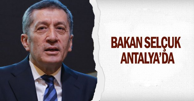 Bakan Selçuk  Antalya'da