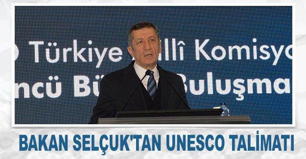 Bakan Selçuk'tan UNESCO talimatı