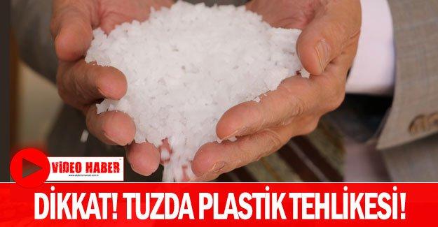 Dikkat! Tuzda plastik tehlikesi!