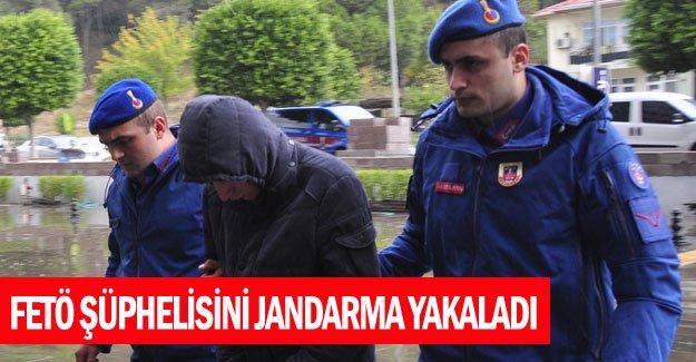 FETÖ şüphelisini Jandarma yakaladı