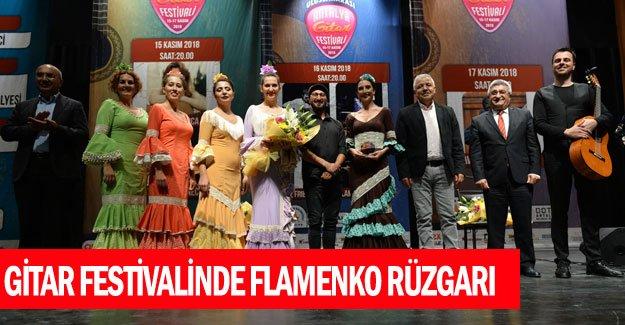 Gitar festivalinde Flamenko rüzgarı