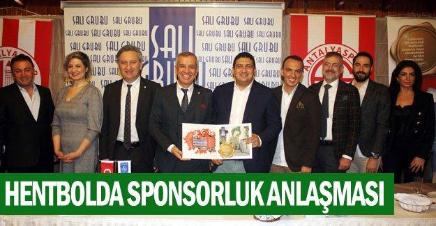 Hentbolda sponsorluk anlaşması