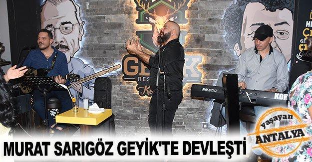 Murat Sarıgöz Geyik'te devleşti