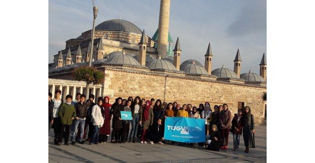 Öğrenciler Konya'yı gezdi