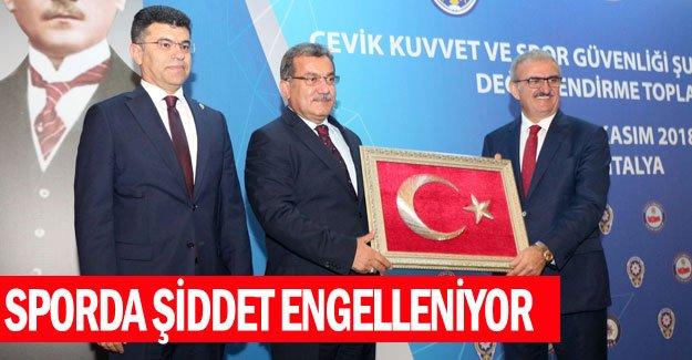 SPORDA ŞİDDET ENGELLENİYOR