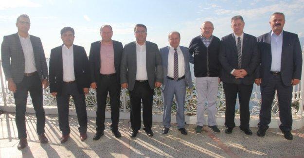Ünal'dan Antalya'ya veda