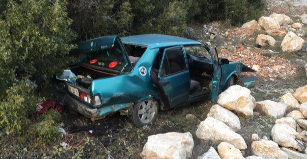 Akseki'de kaza: 4 yaralı