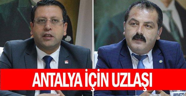 Antalya için uzlaşı