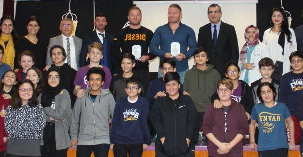 Tunçeri kardeşler, Spor Okulu Öğrencileriyle Buluştu