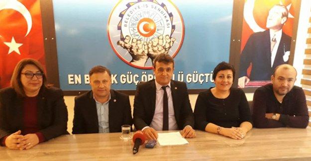 Belediye-İş'te yeni başkan Mercan