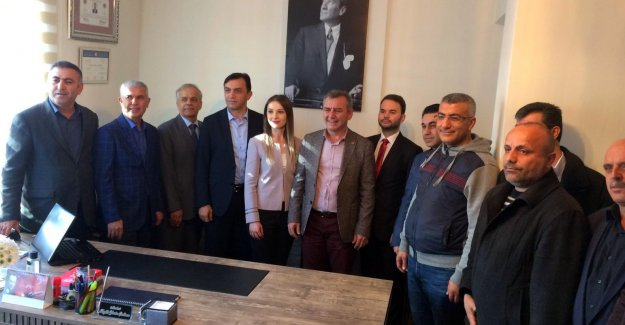 Çalhan-Çelik Avukatlık  Bürosu törenle açıldı