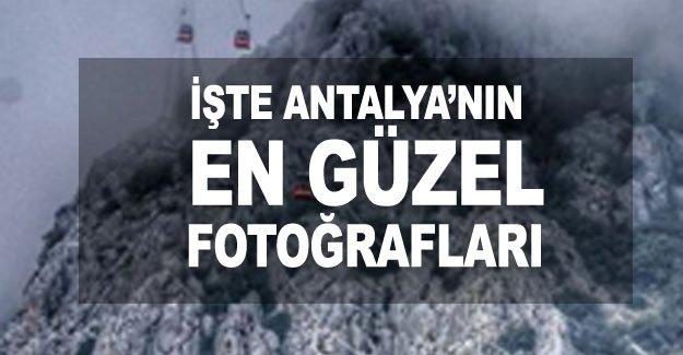 İşte Antalya'nın en güzel fotoğrafları