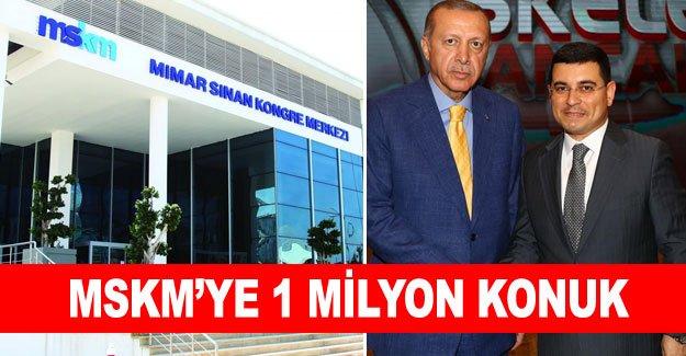MSKM'ye 1 milyon konuk