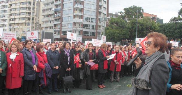 Türk Kadınlar Birliği üyeleri bir araya geldi