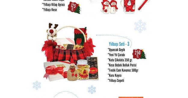 Yılbaşına özel ürünler satışta