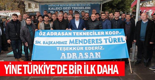 Yine Türkiye'de bir ilk daha