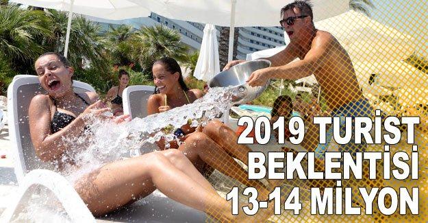2019 turist beklentisi 13-14 milyon