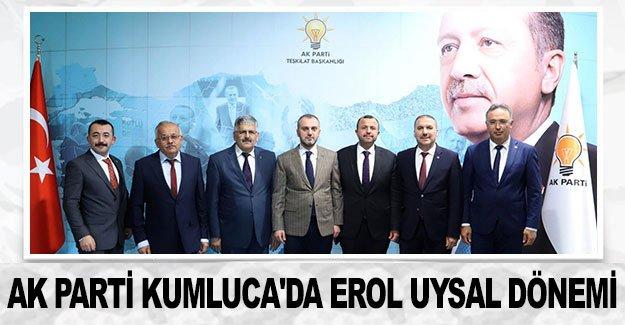 AK Parti Kumluca'da Erol Uysal dönemi