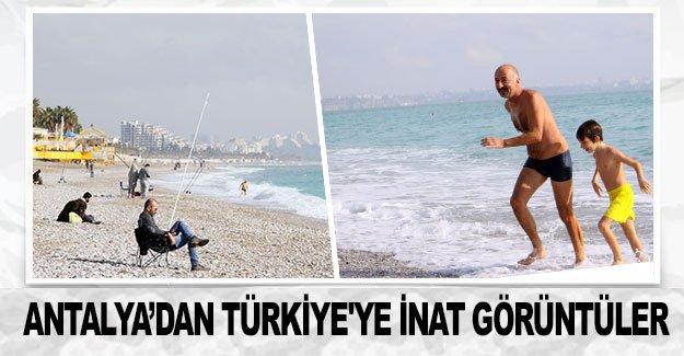 Antalya'dan Türkiye'ye inat görüntüler