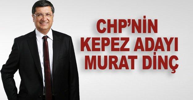 CHP'nin Kepez adayı Murat Dinç