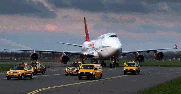 Dünyanın en yaşlı jumbo jeti