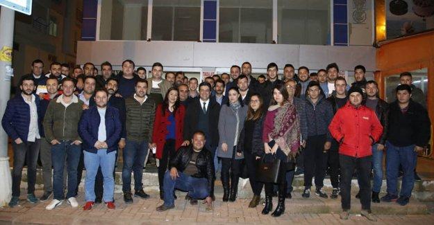Genç Başkan gençlerle buluştu