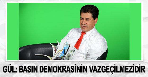 Gül: Basın demokrasinin vazgeçilmezidir