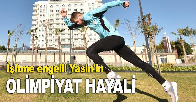 İşitme engelli Yasin'in olimpiyat hayali