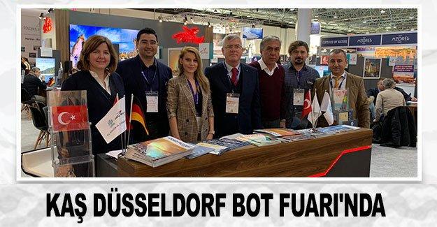 Kaş Düsseldorf Bot Fuarı'nda