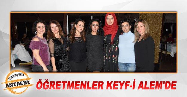 Öğretmenler Keyf-i Alem'de